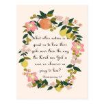 Encouraging Bible Verses Art - Deuteronomy 4:7 Postcards
