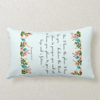 Encouraging Bible Verses Art - Jeremiah 29:11 Throw Pillows