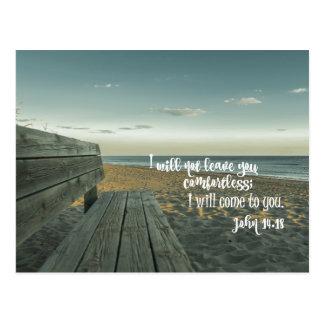 Encouraging Comforting Bible Verse (John) Postcard