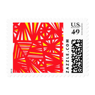 Encouraging Productive Encouraging Self-Confident Postage Stamp