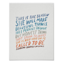 Encouraging quote for artists poster