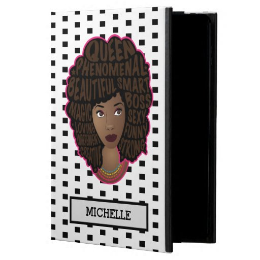 Encouraging Women | Black & White Polka Dots Powis iPad Air 2 Case