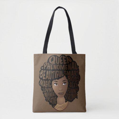 Encouraging Women Melanin Tote Bag