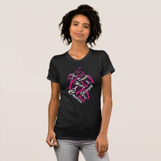 Encouraging Words Breast Cancer Awareness Shirt