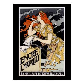 Encre L. Marquet, Eugène Grasset Postales