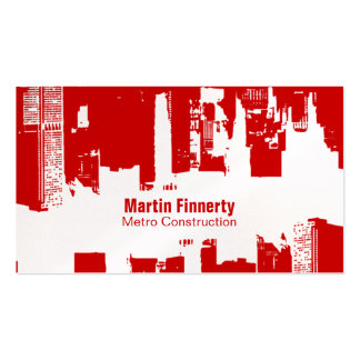 Encroachment Downtown Horizontal Double-Sided Standard Business Cards (Pack Of 100)