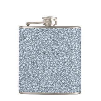 Encrusted Diamonds Look Glitter Patter Flask