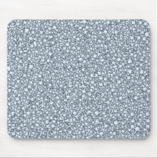 Encrusted Diamonds Look Glitter Patter Mouse Pad