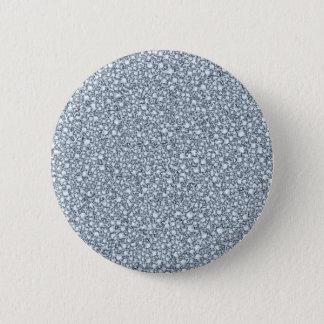 Encrusted Diamonds Look Glitter Patter Pinback Button