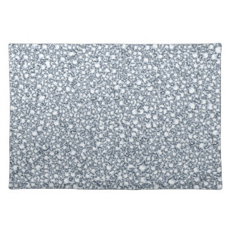 Encrusted Diamonds Look Glitter Patter Placemats