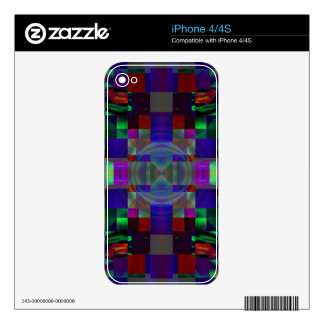 Encrypted Skin For The iPhone 4S