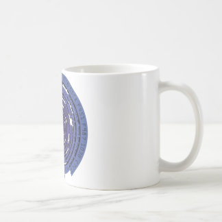 Encrypted Tunnel - BLUE Coffee Mug