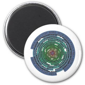 Encryption Circle - LOCKED Magnet