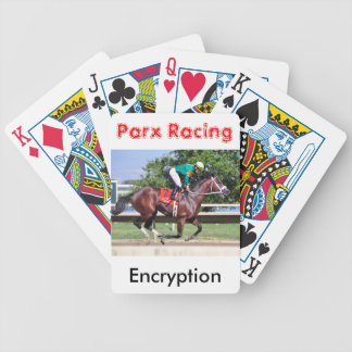 Encryption - Paco Lopez Bicycle Playing Cards