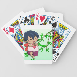 Encuentre a la hada del amor baraja cartas de poker