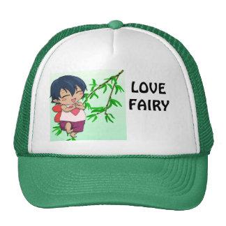 Encuentre a la hada del amor gorra