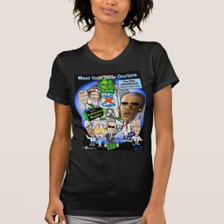 Encuentre a sus nuevos doctores camiseta
