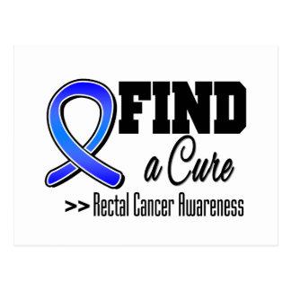 Encuentre a un cáncer rectal de la curación tarjetas postales