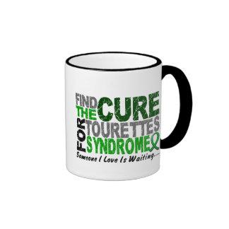 Encuentre el síndrome del Tourette de la curación Taza A Dos Colores