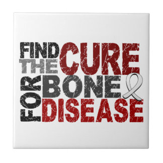 Encuentre la curación para la enfermedad del hueso azulejo