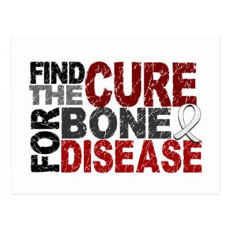 Encuentre la curación para la enfermedad del hueso tarjetas postales