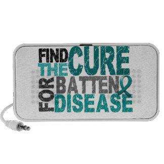 Encuentre la enfermedad del listón de la curación portátil altavoces