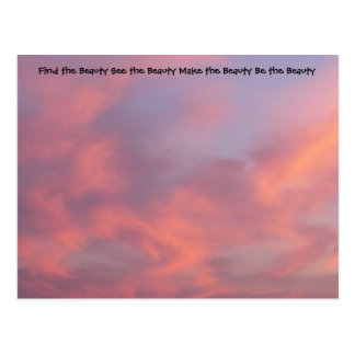 Encuentre la postal del rosa de la belleza