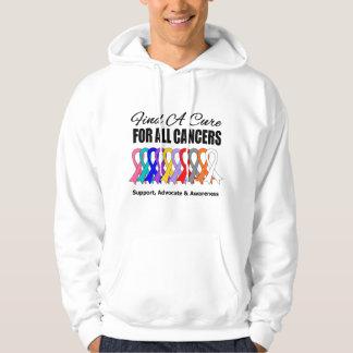 Encuentre las cintas de una curación para todos sudadera pullover