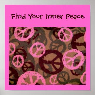 Encuentre su Paz-Poster interno