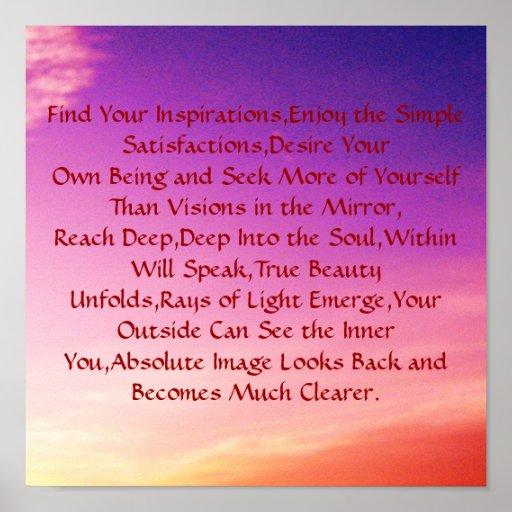 Encuentre sus inspiraciones, goce del Si… Impresiones