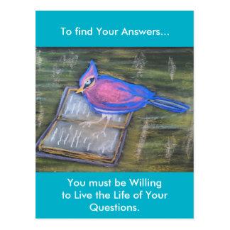 Encuentre sus postales de las respuestas