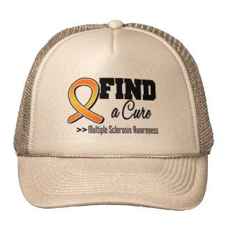 Encuentre una conciencia de la esclerosis múltiple gorros bordados