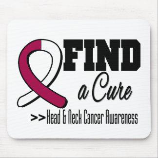 Encuentre una conciencia del cáncer del cuello de  tapetes de ratón