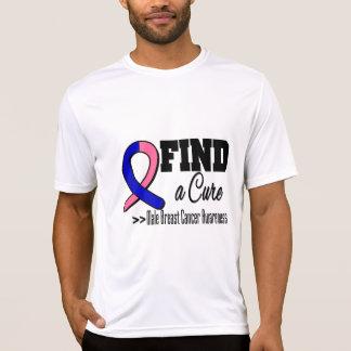 Encuentre una conciencia masculina del cáncer de p camisetas