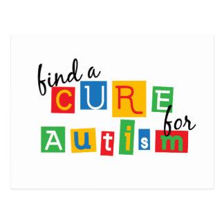 Encuentre una curación para el autismo postal
