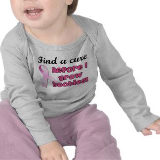 Encuentre una curación para el cáncer de pecho camisetas