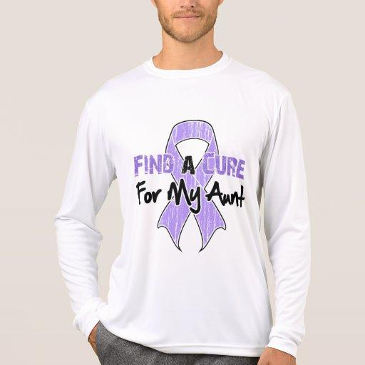 Encuentre una curación para mi tía - general Cance Camiseta