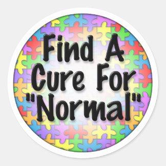 Encuentre una curación para normal