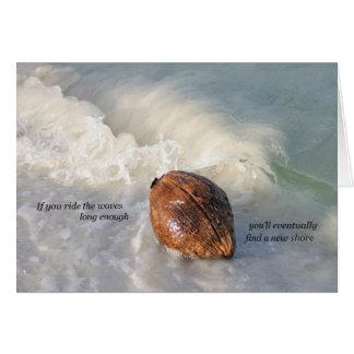 Encuentre una nueva tarjeta de la orilla