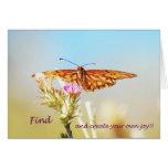 ¡Encuentre y cree su propia alegría! Felicitación