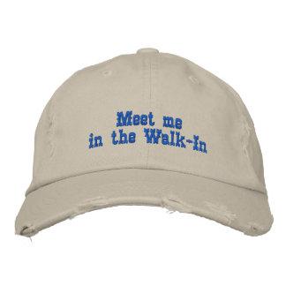 Encuéntreme en el Walk-In Gorras De Beisbol Bordadas