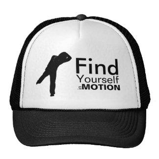 Encuéntrese en gorra del movimiento
