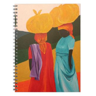 Encuentro amistoso 2006 spiral notebook