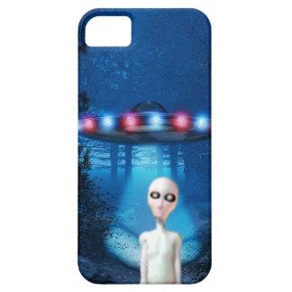 Encuentro del cierre del UFO del bosque iPhone 5 Case-Mate Carcasas
