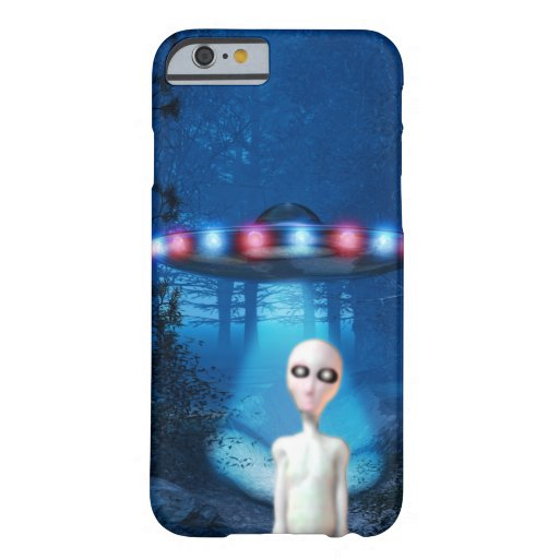 Encuentro del cierre del UFO del bosque Funda De iPhone 6 Barely There