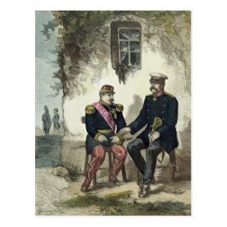 Encuentro entre Otto von Bismarck y Napoleon Postal