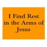 Encuentro resto en los brazos de Jesús Postal