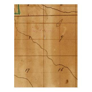 Encuesta sobre Michigan e Indiana Tarjetas Postales