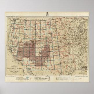 Encuestas sobre geográficas Estados Unidos Impresiones