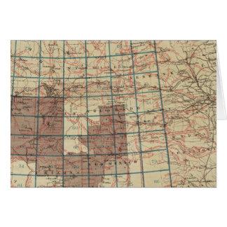 Encuestas sobre geográficas Estados Unidos Tarjetón